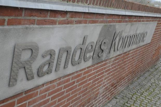 Ledighedsprocent i Randers over landsgennemsnit