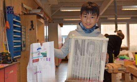Folkeskole har fokus på kreativitet og håndværk