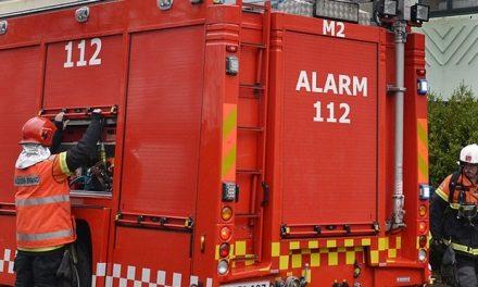 Tre opgange evakueret i forbindelse med kælderbrand