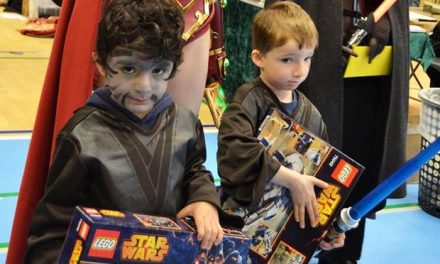 Star Wars messe nu i tre etager