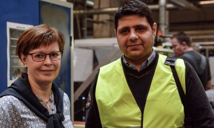 Flygtninge får uddannelse og arbejde i Randers