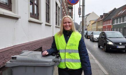 Mette vil bo i en ren by uden affald
