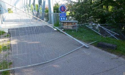 Hegn på blå bro respekteres ikke
