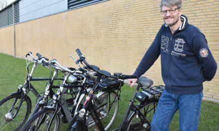 Lånecykler med el flytter til omegnsbyer