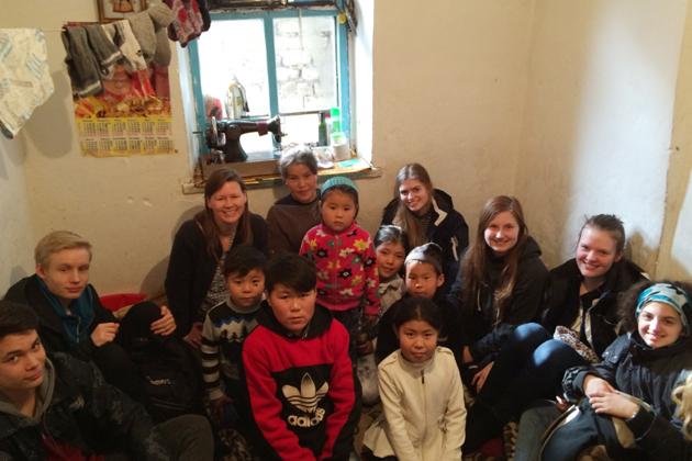 Sofie gør en forskel for børn i Kirgisistan