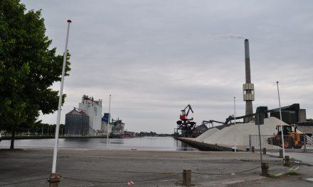 For meget larm fra havnen?