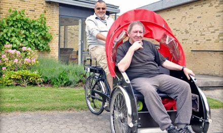 Preben er rickshawpilot: Det giver mening i livet
