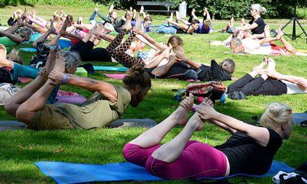 En god sag ved Randers Yoga Festival