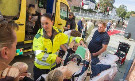 Flere hundrede besøgte Regionshospitalet Randers