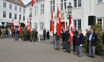 Veteraner får et mindesmærke