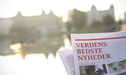 Lokale folkevalgte på gaden med Verdens Bedste Nyheder