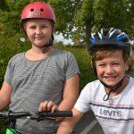 Benjamin og Frida glæder sig til cykelkampagne