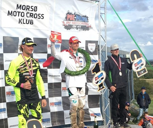 Randers kører vinder bronze i motocross