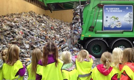 En tur til affaldslandet for alle børn