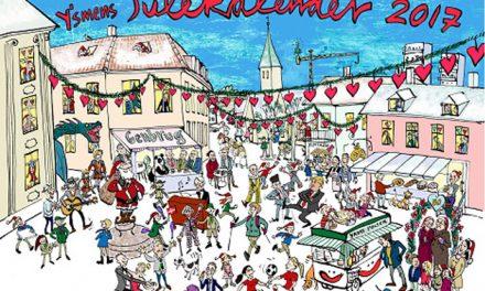 Y´s Men´s Julekalenderen 2017 nu på gaden