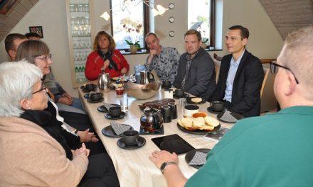 Effektivt kaffemøde om byggeri på Bojesvej