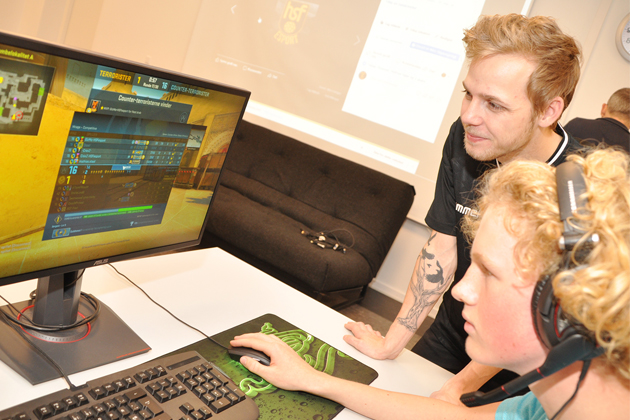 E-sporten i Hornbæk lægger godt fra land