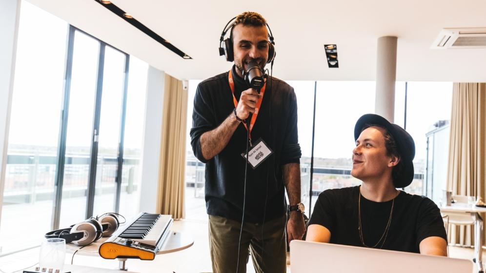 To Randers-sangskrivere udvalgt til talentforløb i Turbinen