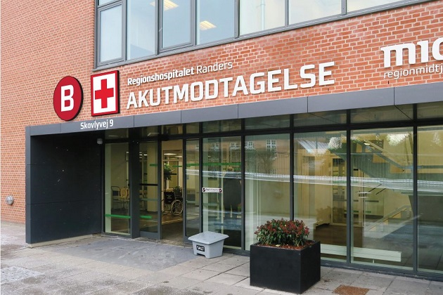 Regionshospitalet Randers indfører nye navne og brugervenlig vejvisning