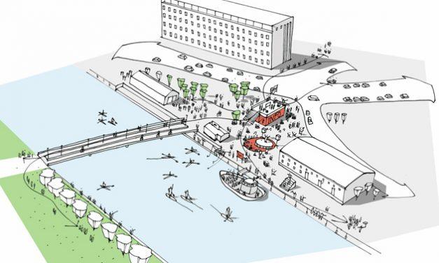 Byen til Vandet får et showroom, et forum og event i Randers Ugen