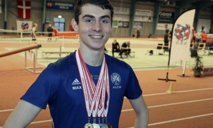 Medaljeregn over Freja-atlet