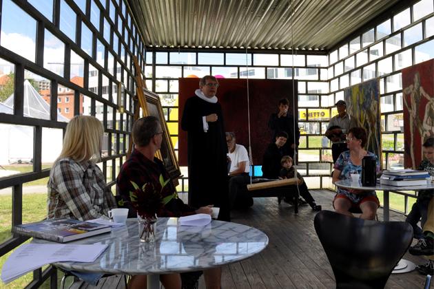Kunst og tro på museet og i kirken