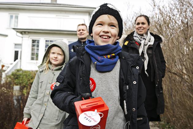 Folkekirkens Nødhjælp samler håb ind