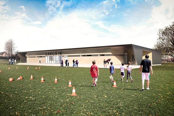 Målrettet strategi giver nyt klubhus til Langå IK