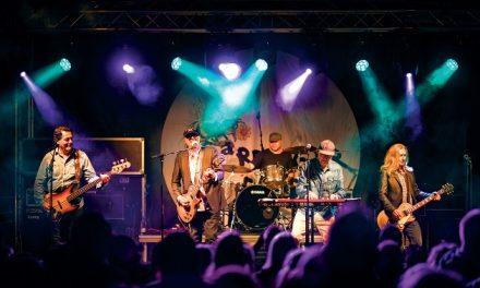 Originale Shu-bi-dua-musikere klar til åbning af Randers Ugen 2018
