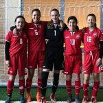 Seks Randers-piger i landsholdstrup