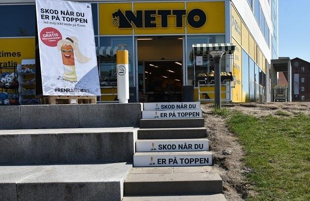 Jens Otto Krags Plads skal være fri for cigaretskod