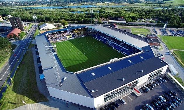 Bedømmelse : Stadion i Randers på 7. plads