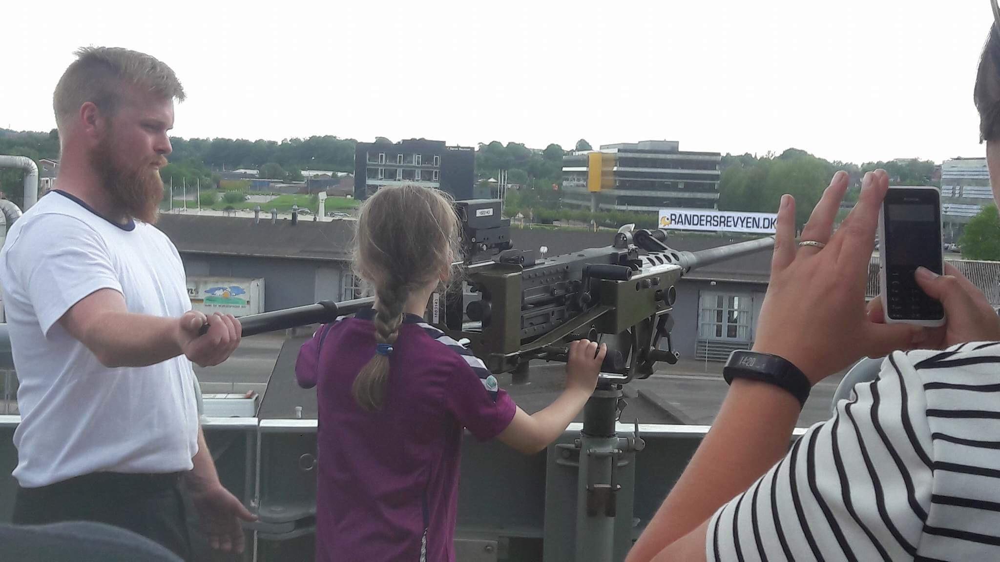 Kort interview og film fra Lauge Koch besøg i Randers