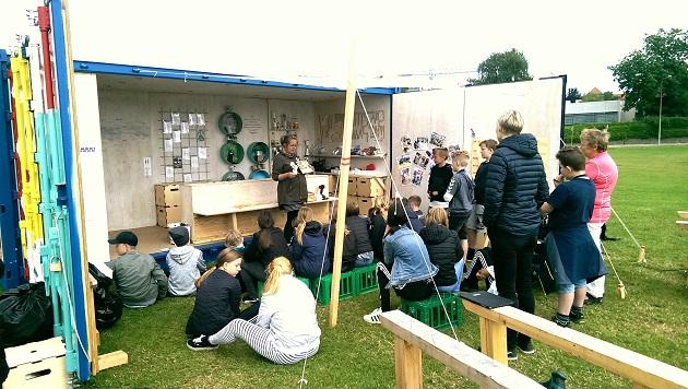 Mobilt arkitekturværksted med sjove og lærerige workshops