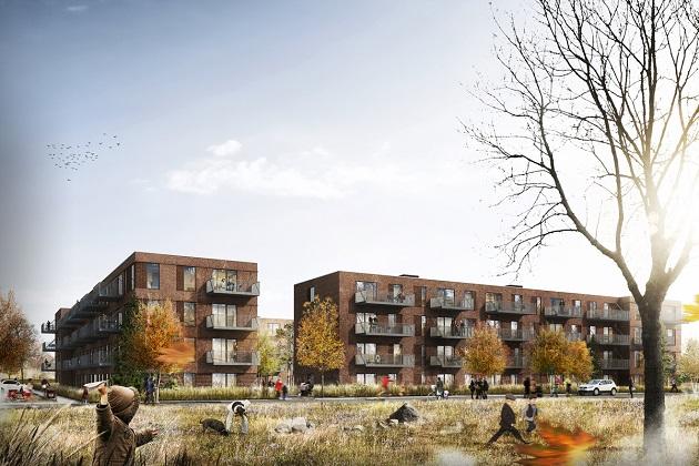 96 nye lejligheder på vej i Randers
