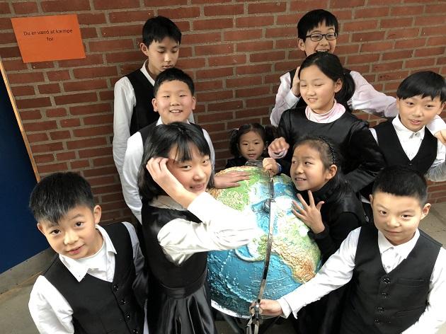 Kinesisk fortrop på besøg i Randers