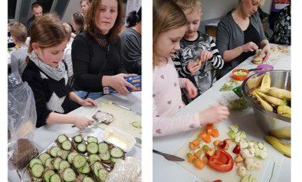 0.b fra Hobrovejens Skole jubler over madpakkesejr