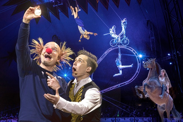 Årets cirkusforestilling med Clemens i Centrum