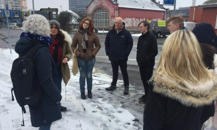 10. klasse samler ind til hjemløse i Randers