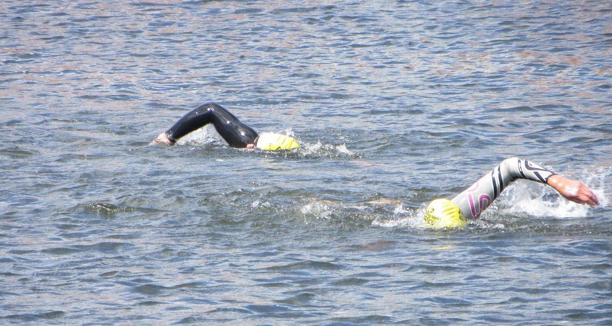 Kamp til stregen i Gudenaa Open Water 2018