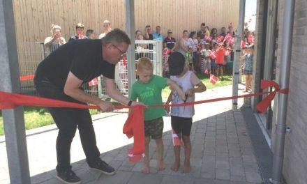 Ny legeplads i Huset Nyvang skaber plads til læring