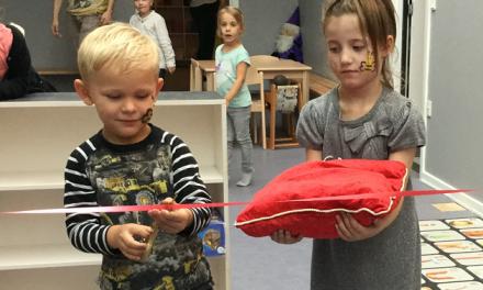 Festdag med indvielse af Børnehuset Birkebos nye lokaler