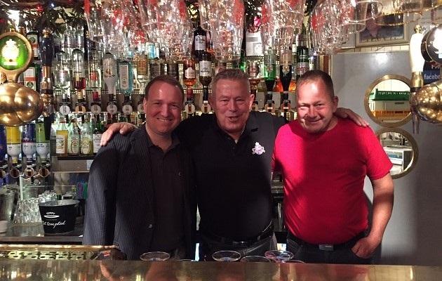 Malte og Michael var gæstebartendere på Cafe 38 i Randers Ugen