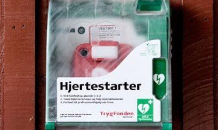 Flere tusinde hjertestartere risikerer ikke at virke optimalt