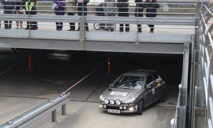 70 rallyvogne til start i Randers