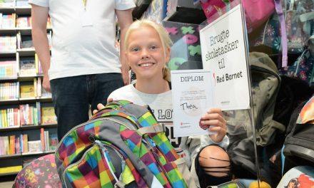 Brugte skoletasker fra Randers hjælper udsatte børn