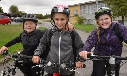 Elever er klar til landsdækkende cykelkampagne