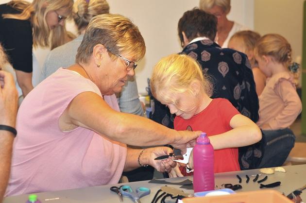 Børnehuset Æblehaven inviterer natur og bedsteforældre indenfor