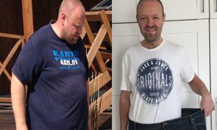 Lars tabte 70 kilo