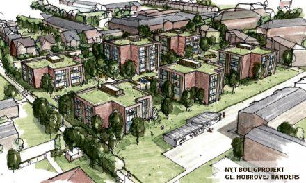 Nyt projekt med 130 boliger i Randers